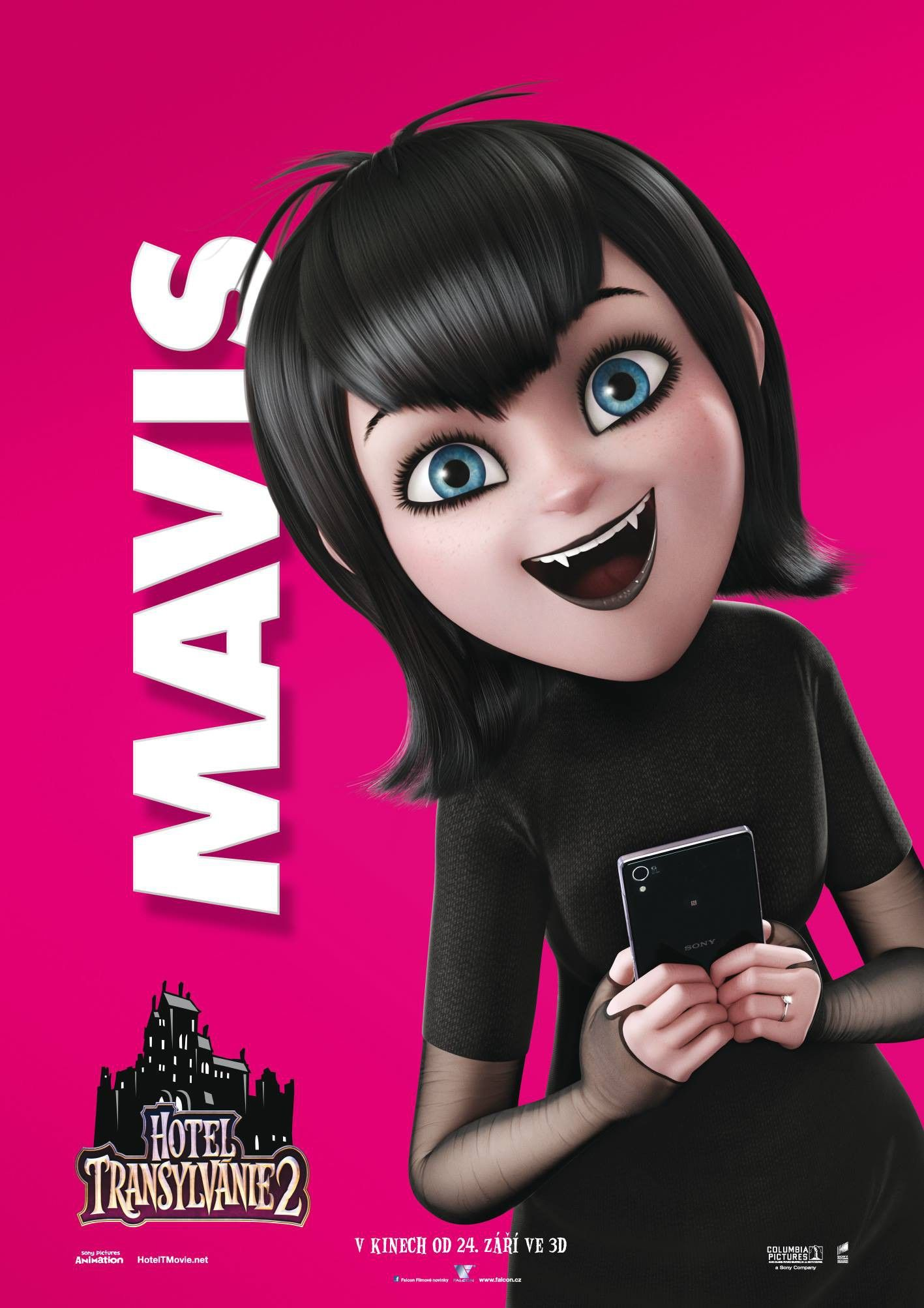 Hotel Transylvania 2 Character Poster Tags Girl Mavis 3d