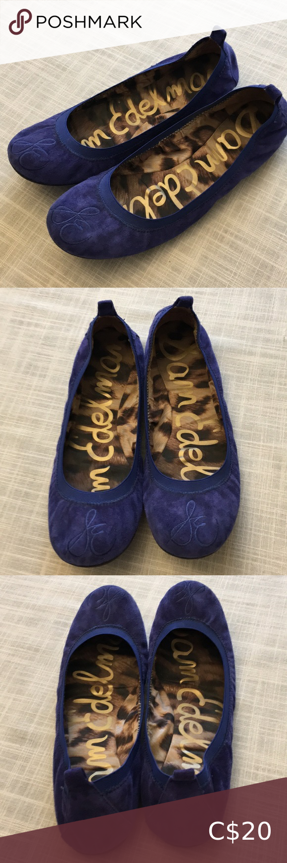 Blue blue blue suede shoes in 2020