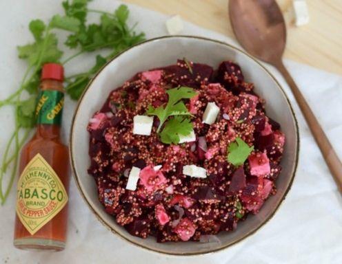 Roter quinoa salat rezepte