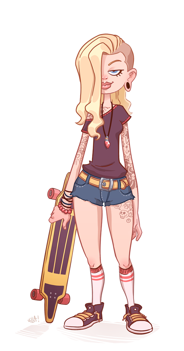 skater girl game