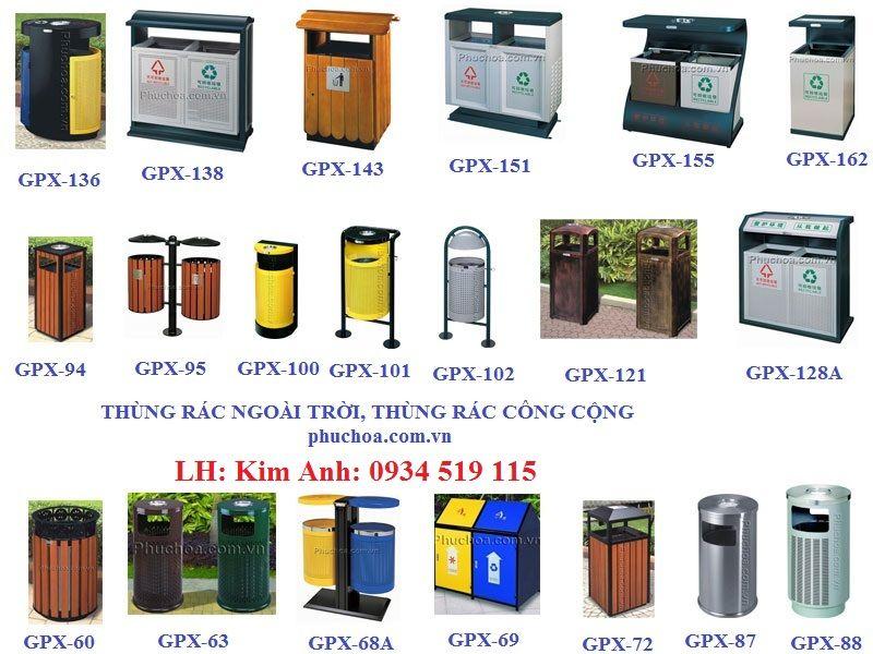 Thùng rác công cộng giá rẻ hay thùng rác ngoài trời có nhiều ưu điểm thuận lợi trong quá trình sử dụng. Nếu bạn đang cần mua một hay nhiềuthùng rác công cộng ngoài trời thì Phúc Hòa sẽ giúp bạn được điều đó, mẫu mã đa dạng, giá cả cạnh tranh.   Thùng đựng rác công cộng là một trong những vật...