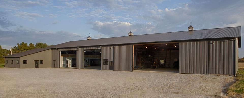 Combination - Farm Shop and Machine Storage | Tippecanoe County, Lafayette, Indiana | FBi Buildings