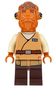 Sw719 Admiral Ackbar Lego Star Wars Sets Lego Star Wars Star Wars Episodes