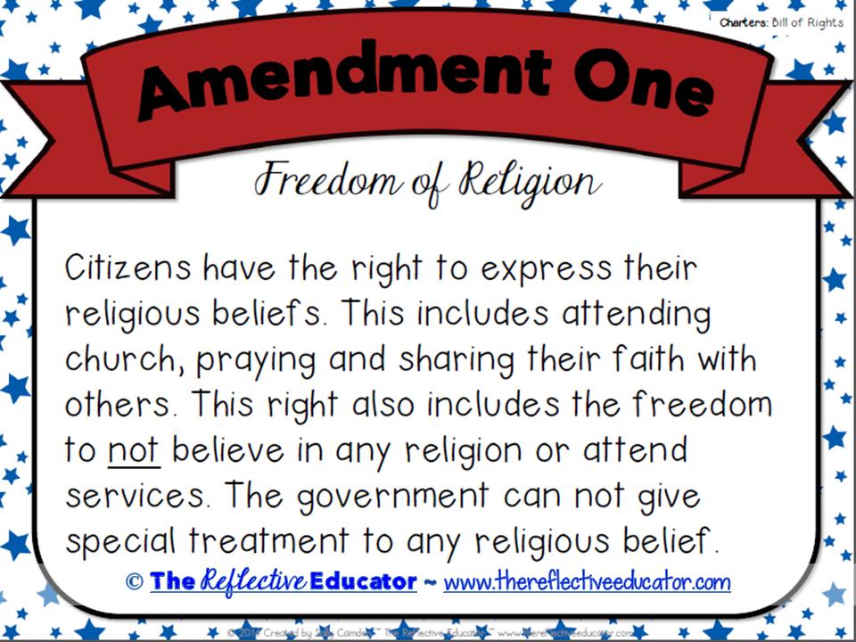 Bill of Rights (All 10 Amendments) ~ Quick Pack   Social studies ...