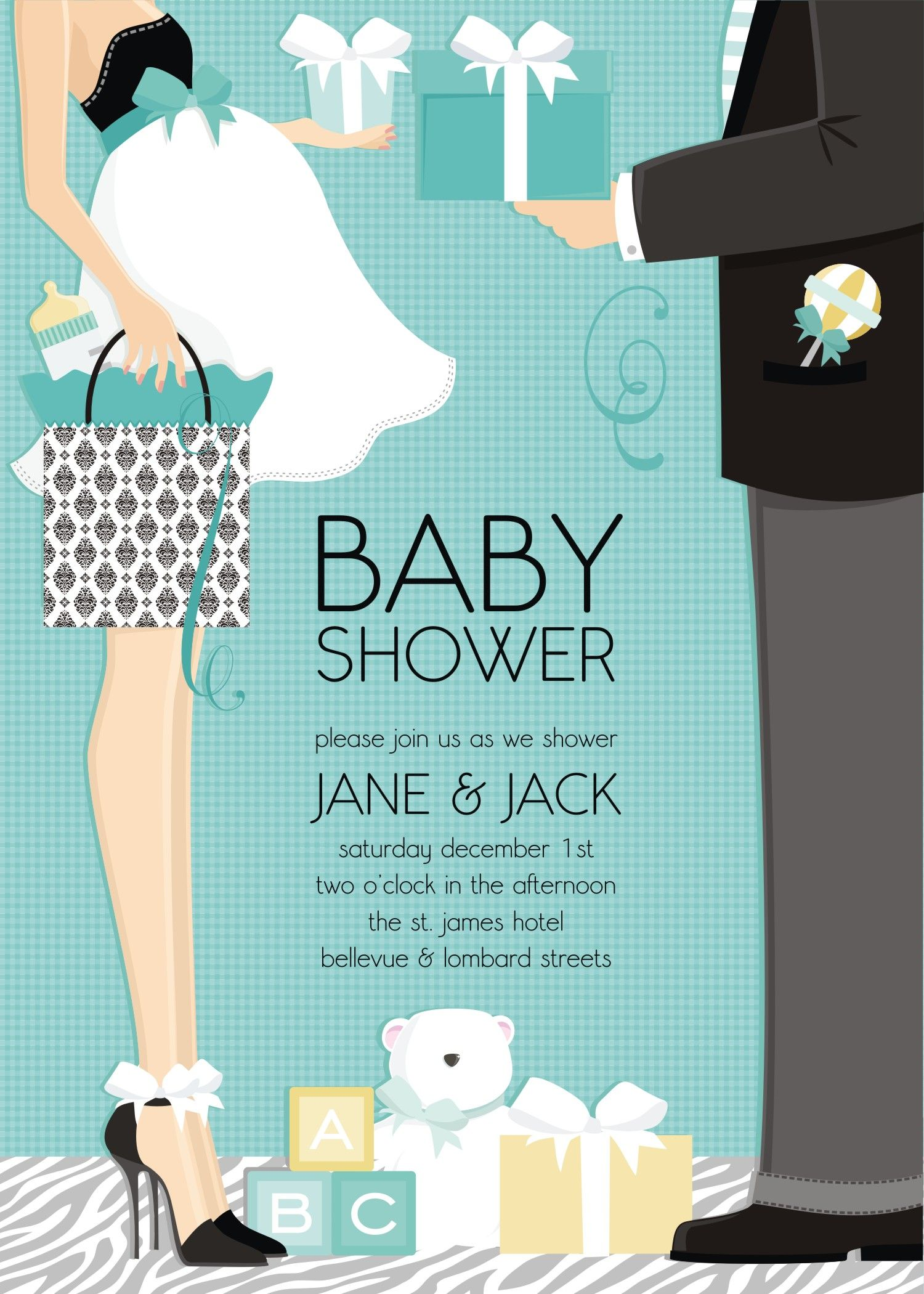Celebrate the mommy and daddytobe with a couples shower Baby