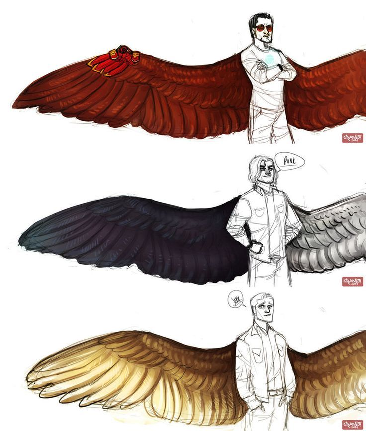 Avengers Wing Au Designs Part 1 By Cranity On Deviantart