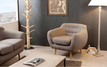 étonnant Petit Fauteuil Pour Salon Décoration Française - Petit fauteuil pour salon