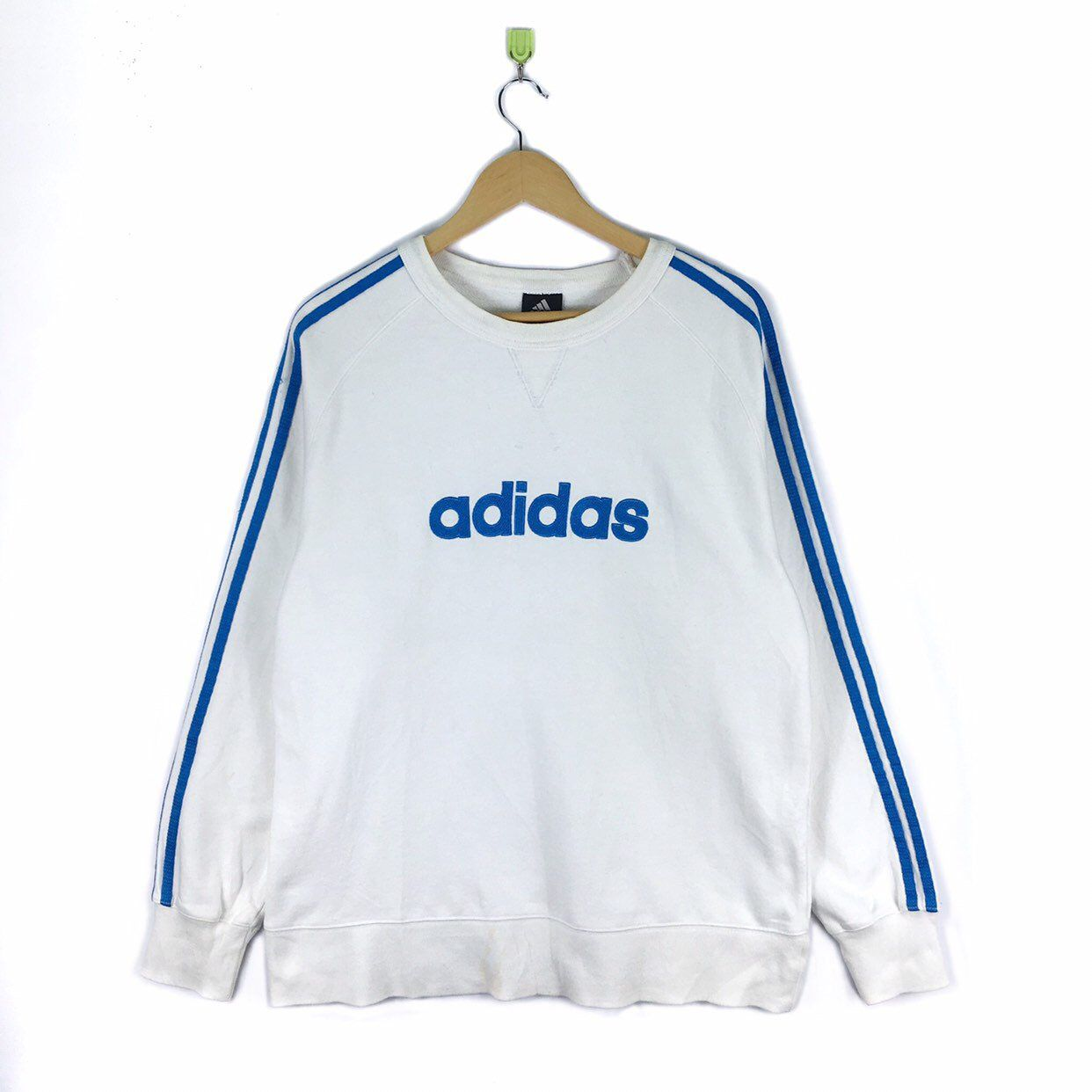 Excited To Share This Item From My Etsy Shop Vintage Adidas Crewneck Sweatshirt Adidas Side Tape Trefoils Vintage Adidas Adidas Sweater Crew Neck Sweatshirt [ 1242 x 1242 Pixel ]
