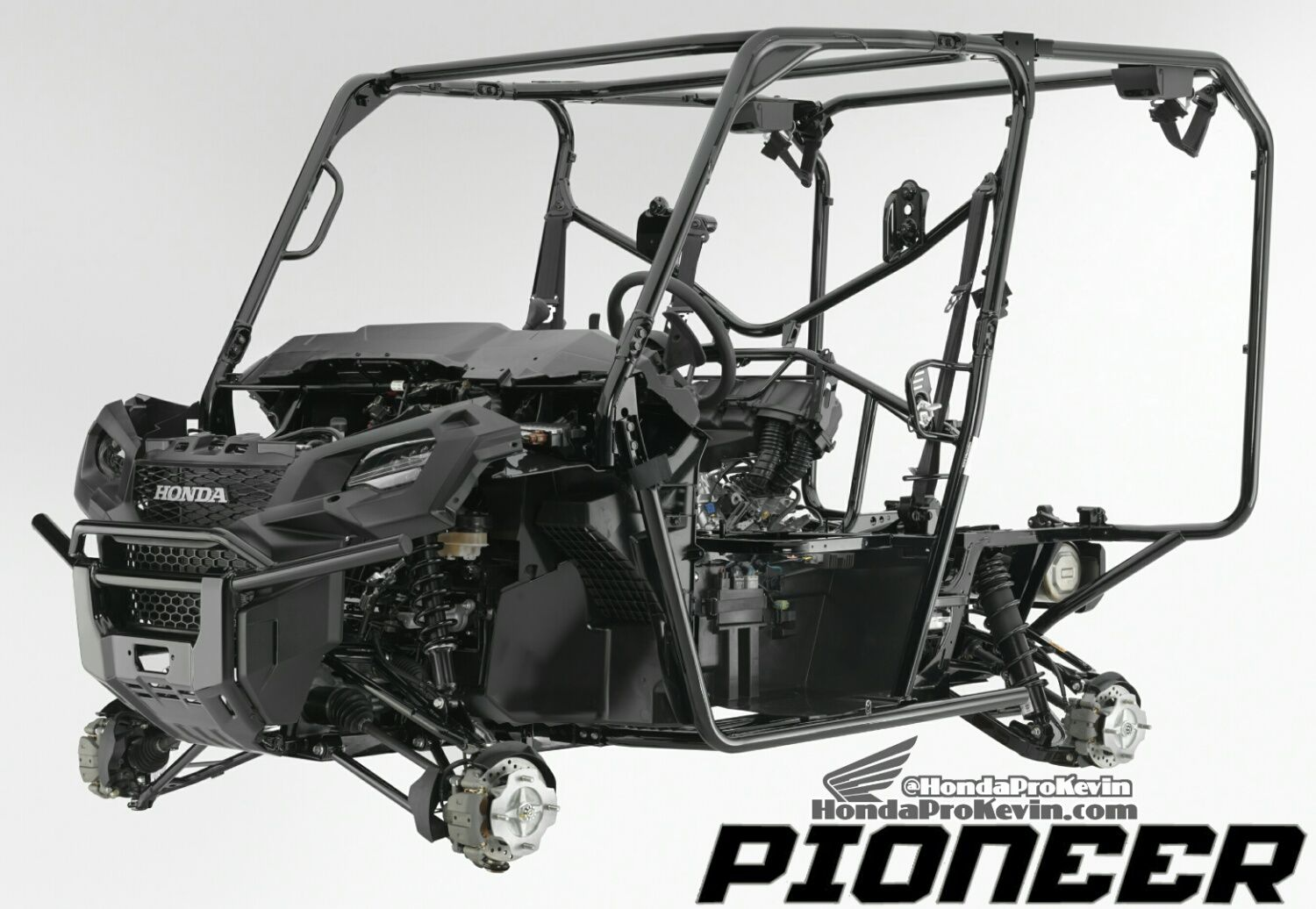 All new 2017 honda pioneer 1000 le review specs changes upgrades overview