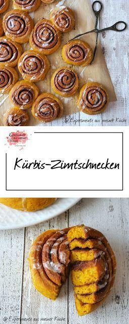 Kürbis-Zimtschnecken - Experimente aus meiner Küche