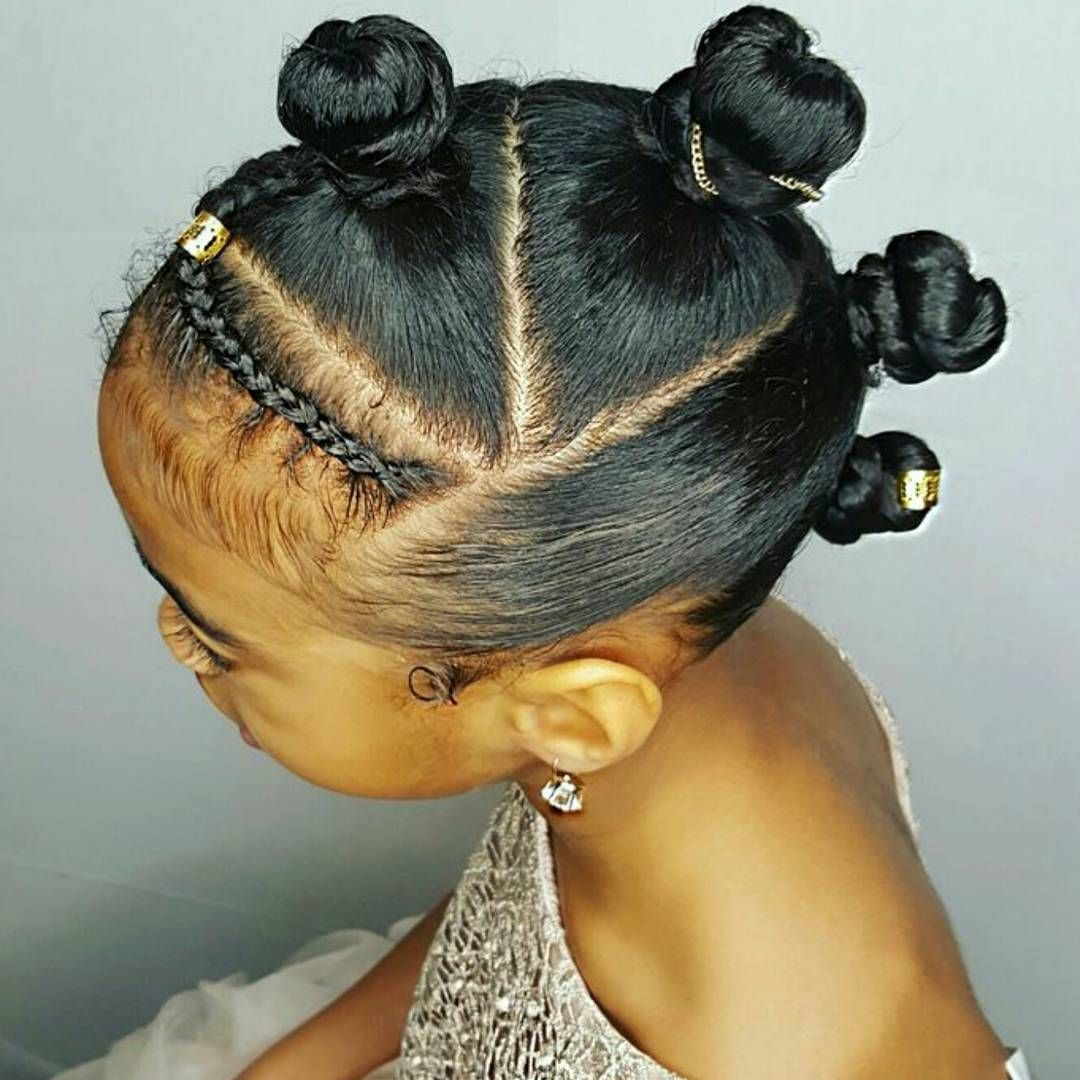 hairstyles for toddlers with short hair black