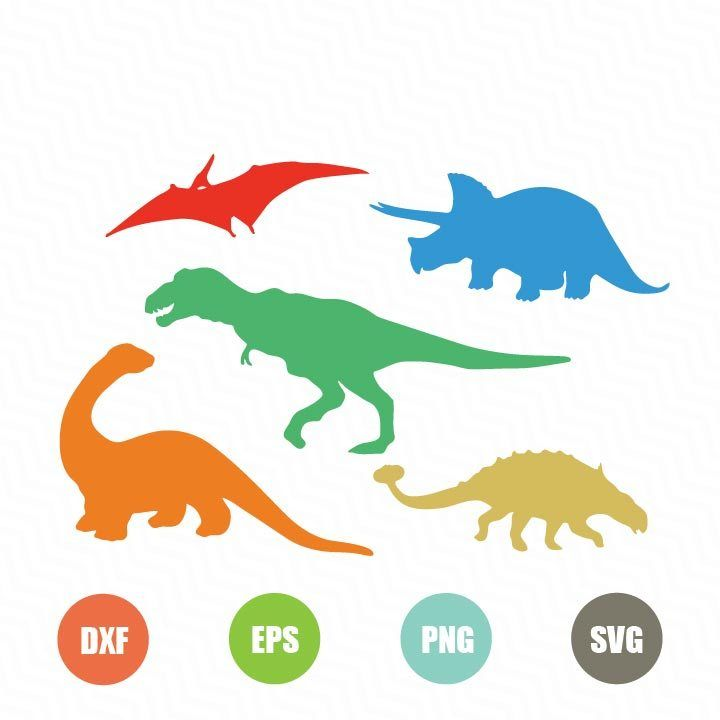 Download Free Dinosaur Silhouettes SVG - TopFreeDesigns | Dinosaur ...