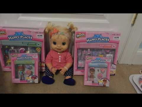 873e66d8fdf2 Baby Alive Emma Tries On Outfits From Toys R Us Toy Hunt! Changing Baby  Alive Dolls - YouTube