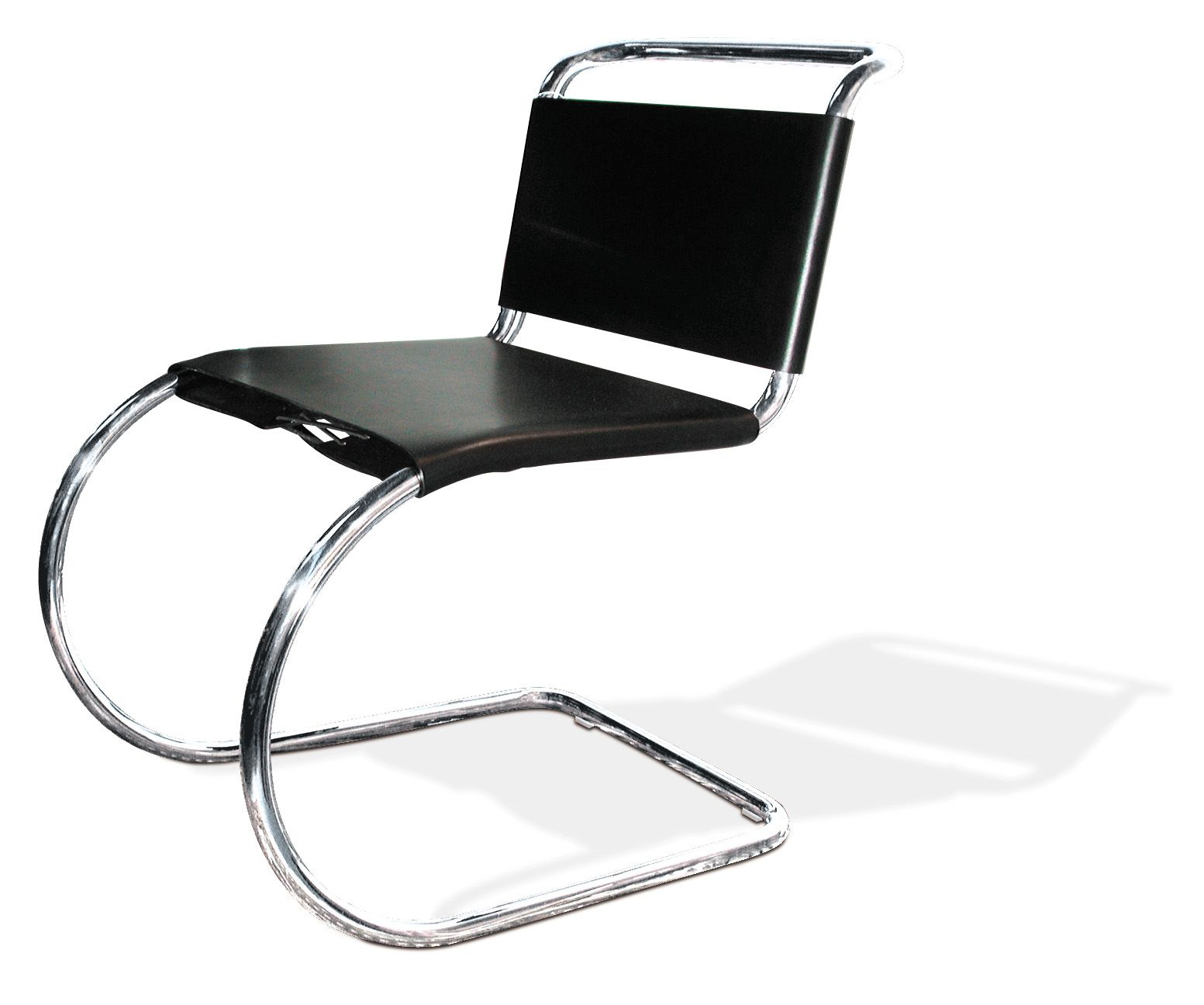 MR 10 Cantilever Chair (leather)   By Ludwig Mies Van Der Rohe   Knoll  International Idea