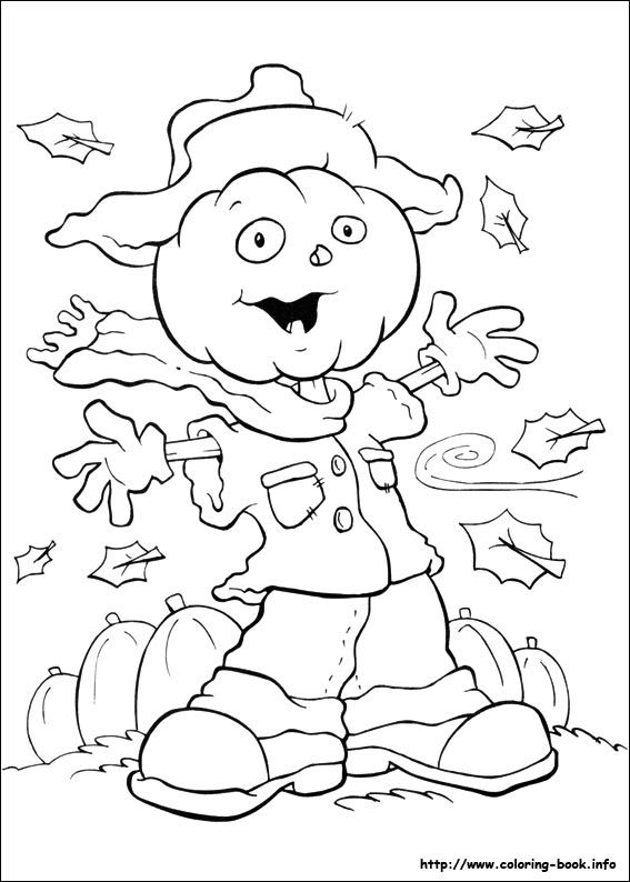 Halloween coloring picture | Fall Stamps | Pinterest | Fichas de ...