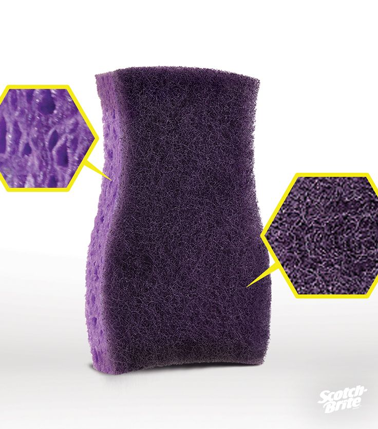 Make smelly odors a thing of the past with the New Scotch-Brite® EXTREME SCRUB Sponge. Our new patented antimicrobial protection in both the cellulose AND the scrubber keeps bad smells far, far away.