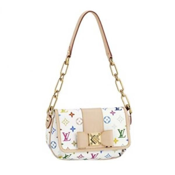 New LV M40127 Fashion Sling Bag White  Super Bags  Pinterest  Women39s