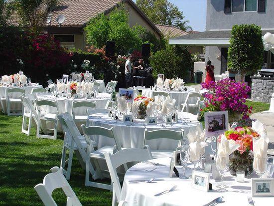 backyard wedding ideas   Backyard Wedding Reception Ideas ...