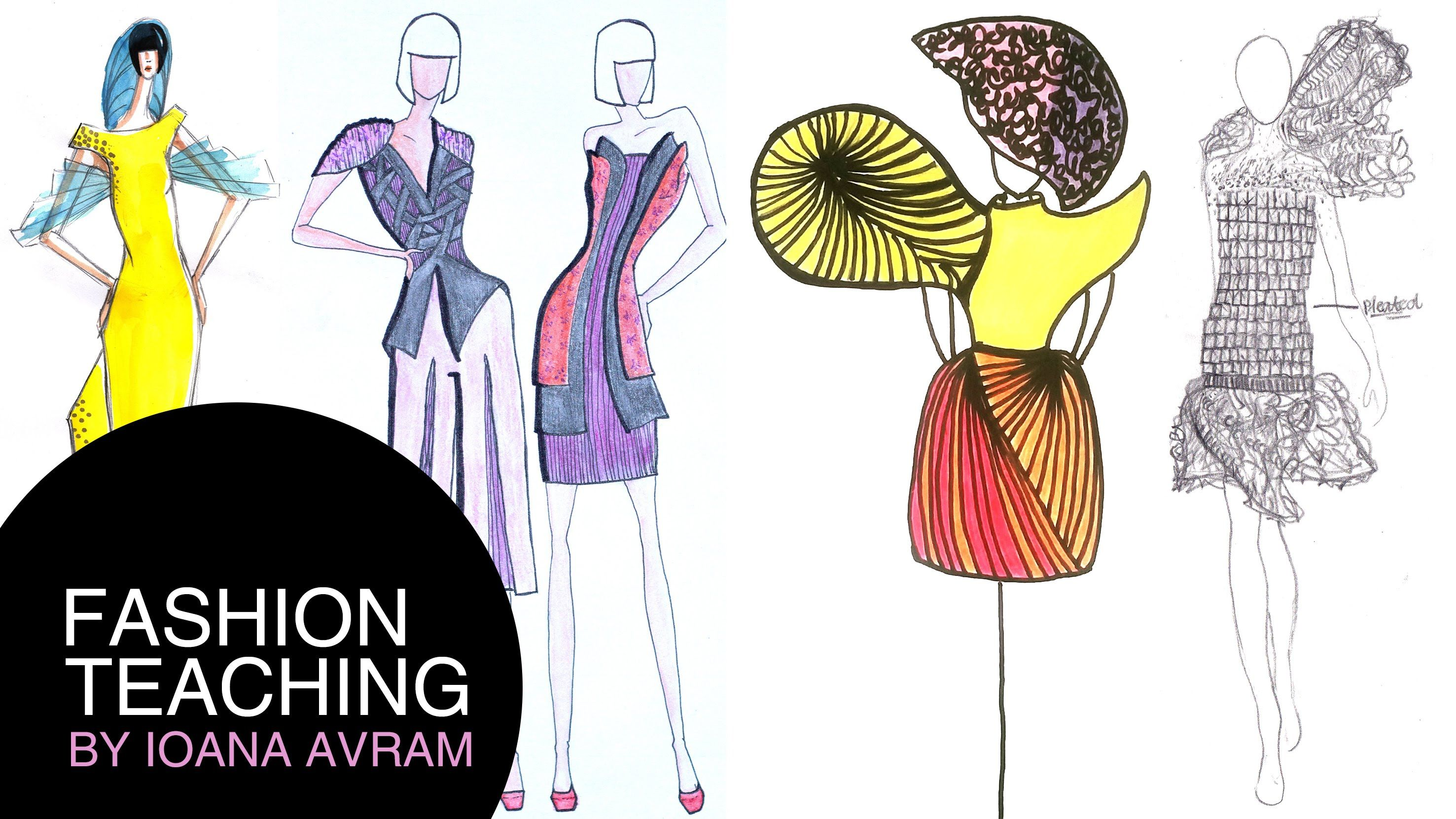 Feedback On How To Create Your Own Fashion Collection Inspired By Drapings Sketch Book Fashion Collection Create Yourself