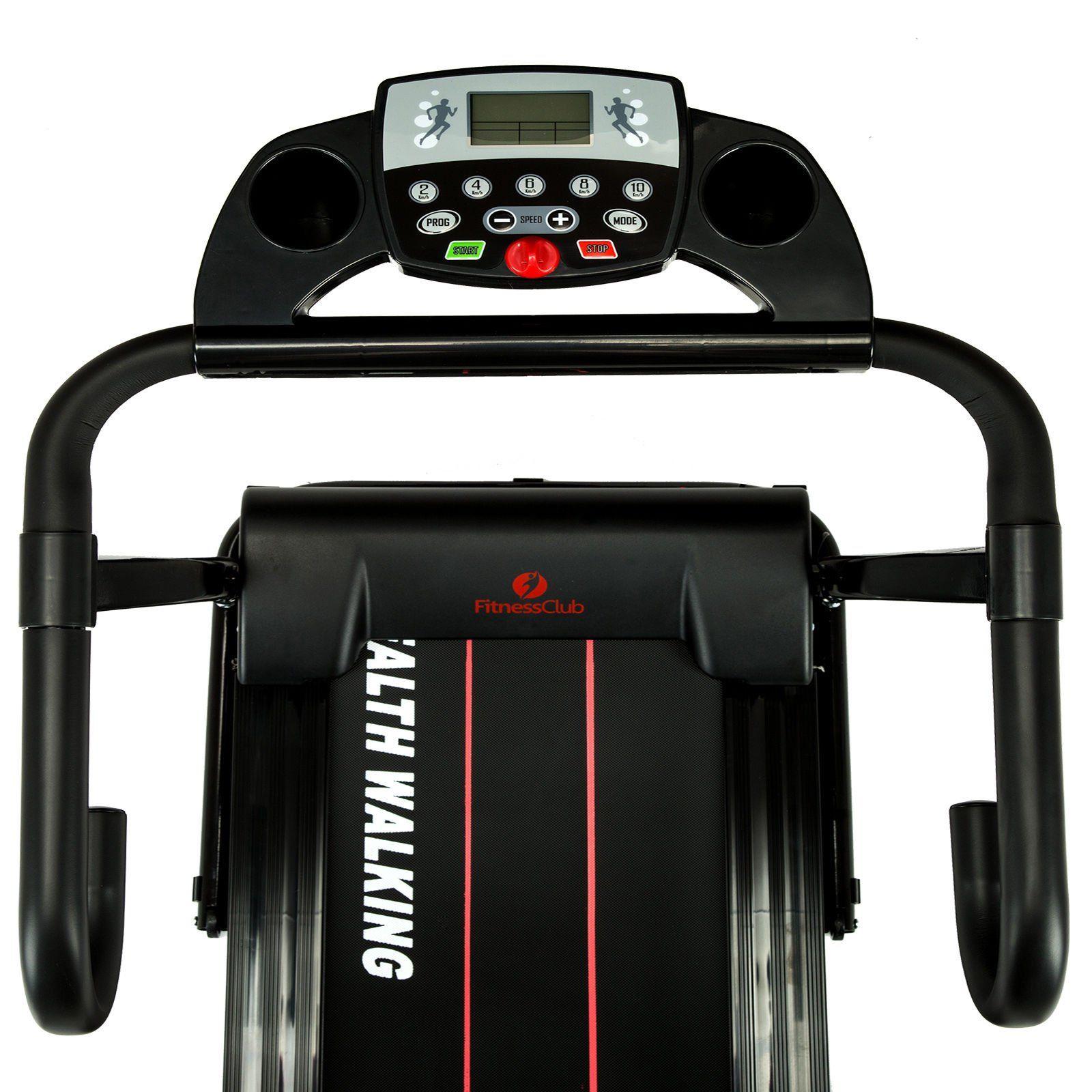 1100W Electric Motorized Treadmill Folding