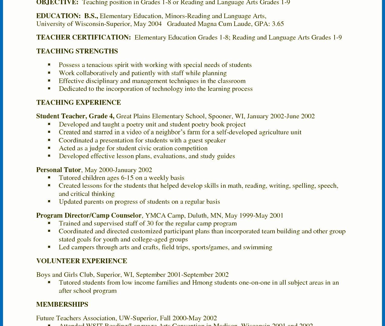 30 Criminal Justice Resume With No Experience In 2020 With Images