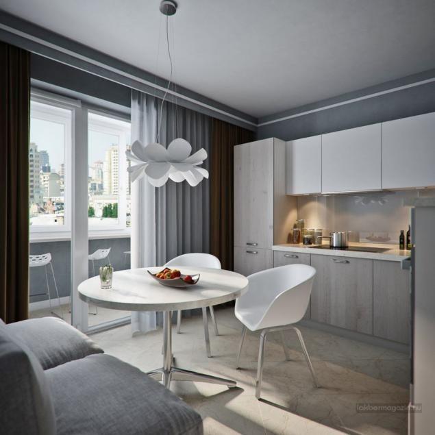 Kis lakás látványterv, lakberendezési tippek