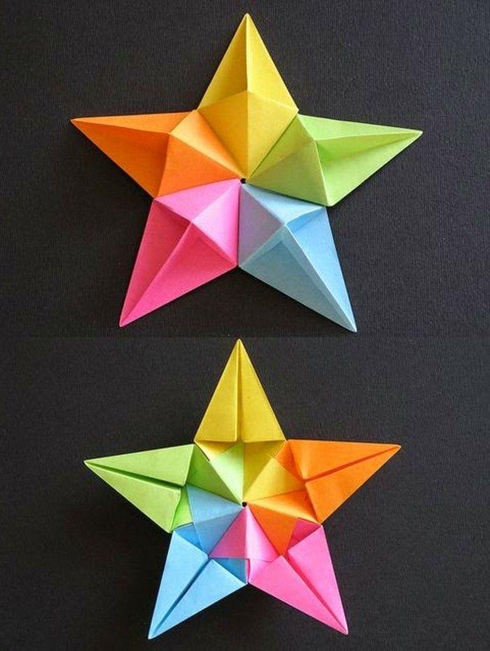 123 super Ideen: Weihnachtssterne basteln! - Archzine.net