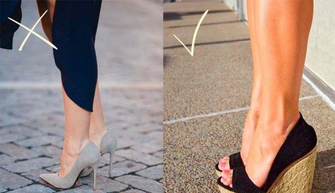7570808d487 ZAPATOS-PARA-PIERNAS-GORDAS-1 | truco estilizacion | Zapatos ...