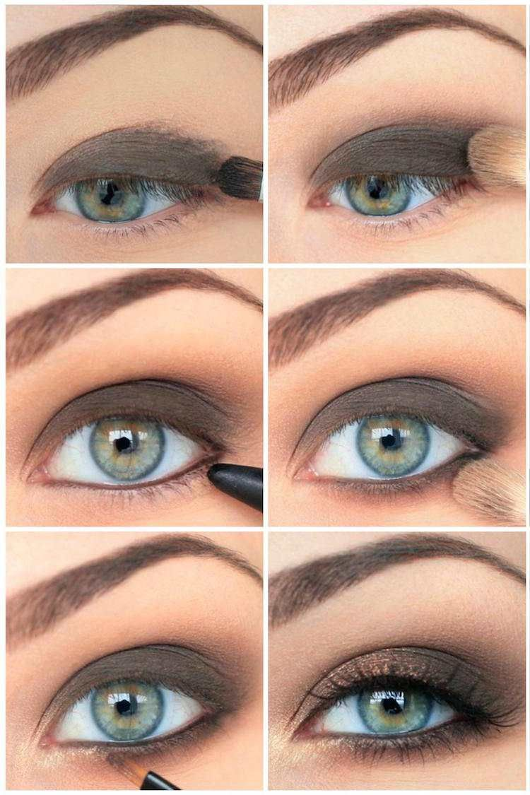 top conseils pour r ussir son maquillage smoky eyes art. Black Bedroom Furniture Sets. Home Design Ideas