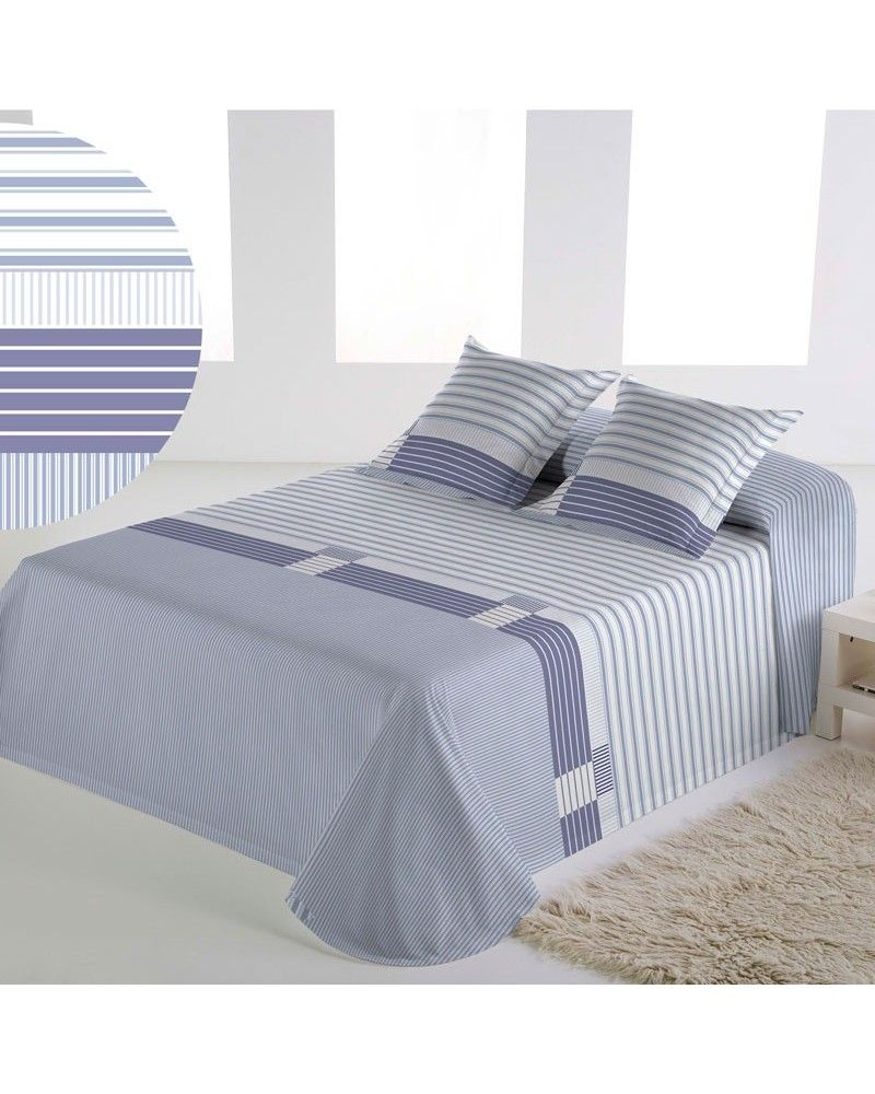 Colcha Bouti Tolrá T4518 Reversible Azul 135 cm | Furniture