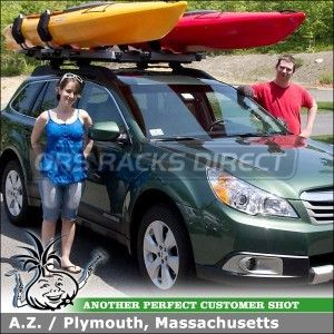 2017 Subaru Outback Kayak Mounts For Thule Crossbars