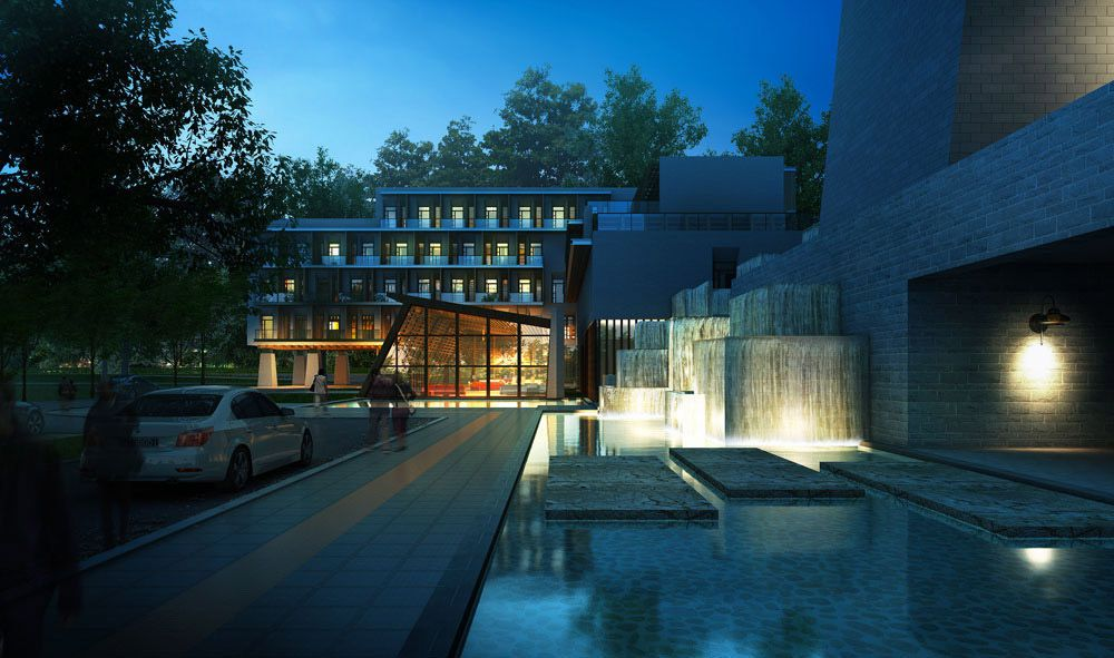 CGarchitect - Professional 3D Architectural Visualization User Community | Nightshot brall