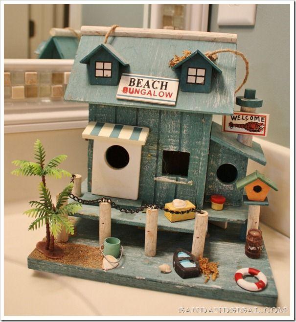 Beach Themed Gingerbread House: My Boys' Beach Themed Bathroom
