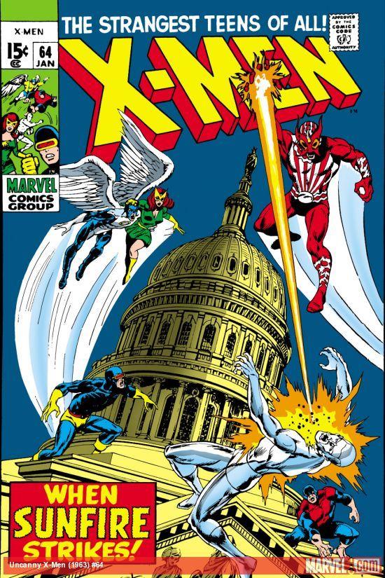 Uncanny X Men 1963 64 Marvel Comics Covers Marvel Comics Superheroes Comics
