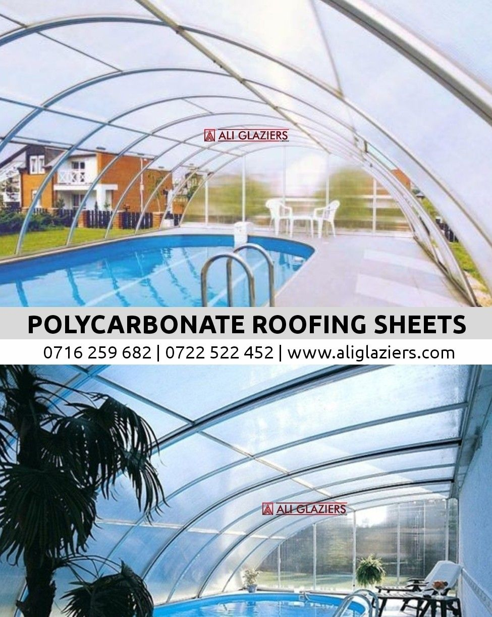Clear Polycarbonate Roofing Sheets In Nairobi Kenya In 2020 Roofing Sheets Roofing Polycarbonate