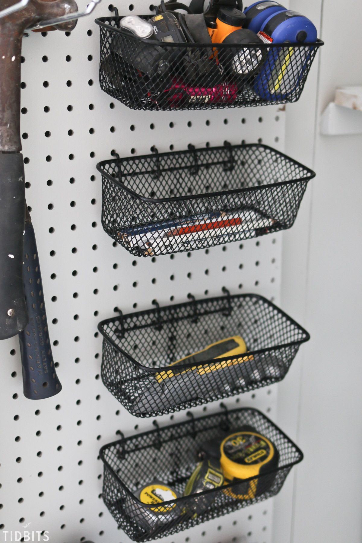 Garage Tool Storage and Organization Ideas #garageideas