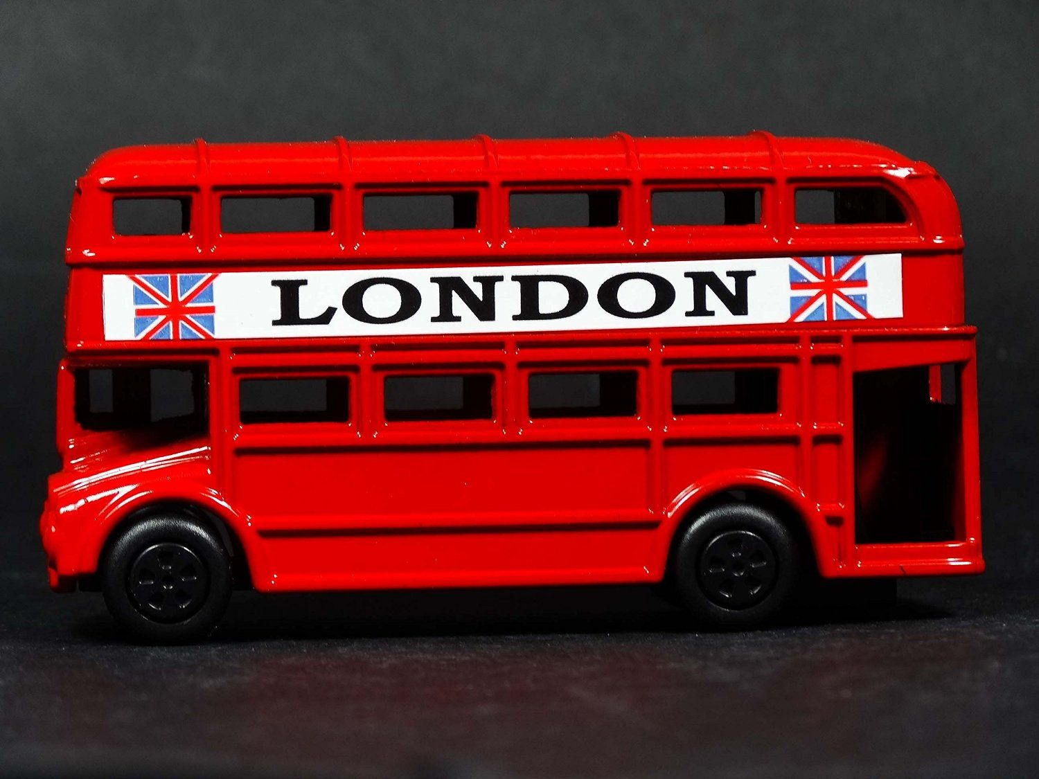 LONDON RED BUS /& BLACK TAXI SET PULL BACK /& GO ACTION TOY SOUVENIR GIFT