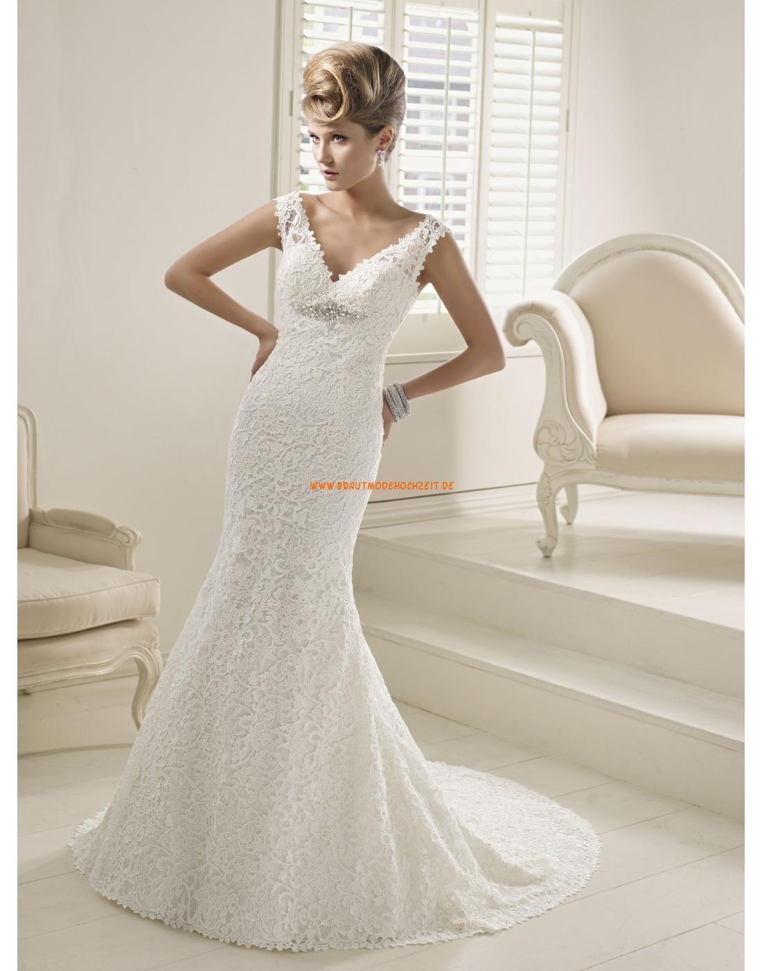 RONALD JOYCE V-ausschnitt Meerjungfrau Elegante Brautkleider aus ...
