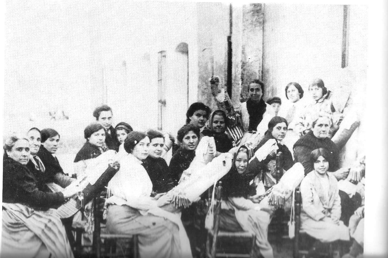 La merceria de Malgrat de Mar: Malgrat antic : puntes de coixí