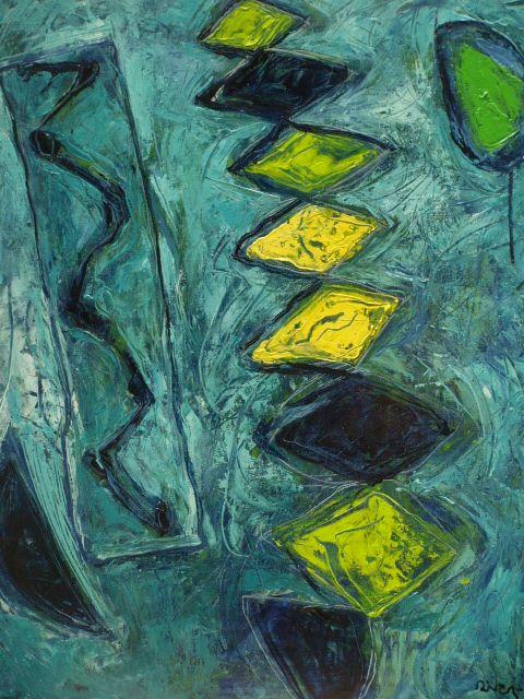 Pintura Oleo sobre tela  73x60 cm. 2013