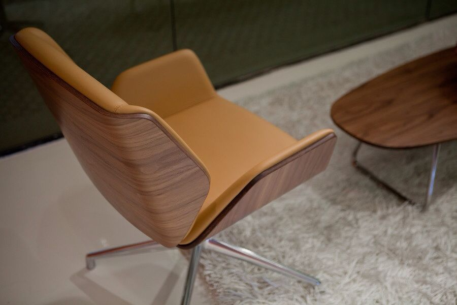 Ki Blue Sky Collection Boss Chair Chair Dark