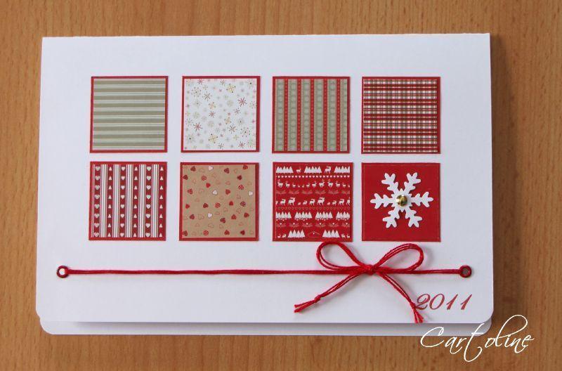 des cartes de voeux des cartes du scrap cartoline cartes pinterest jolie carte noel. Black Bedroom Furniture Sets. Home Design Ideas