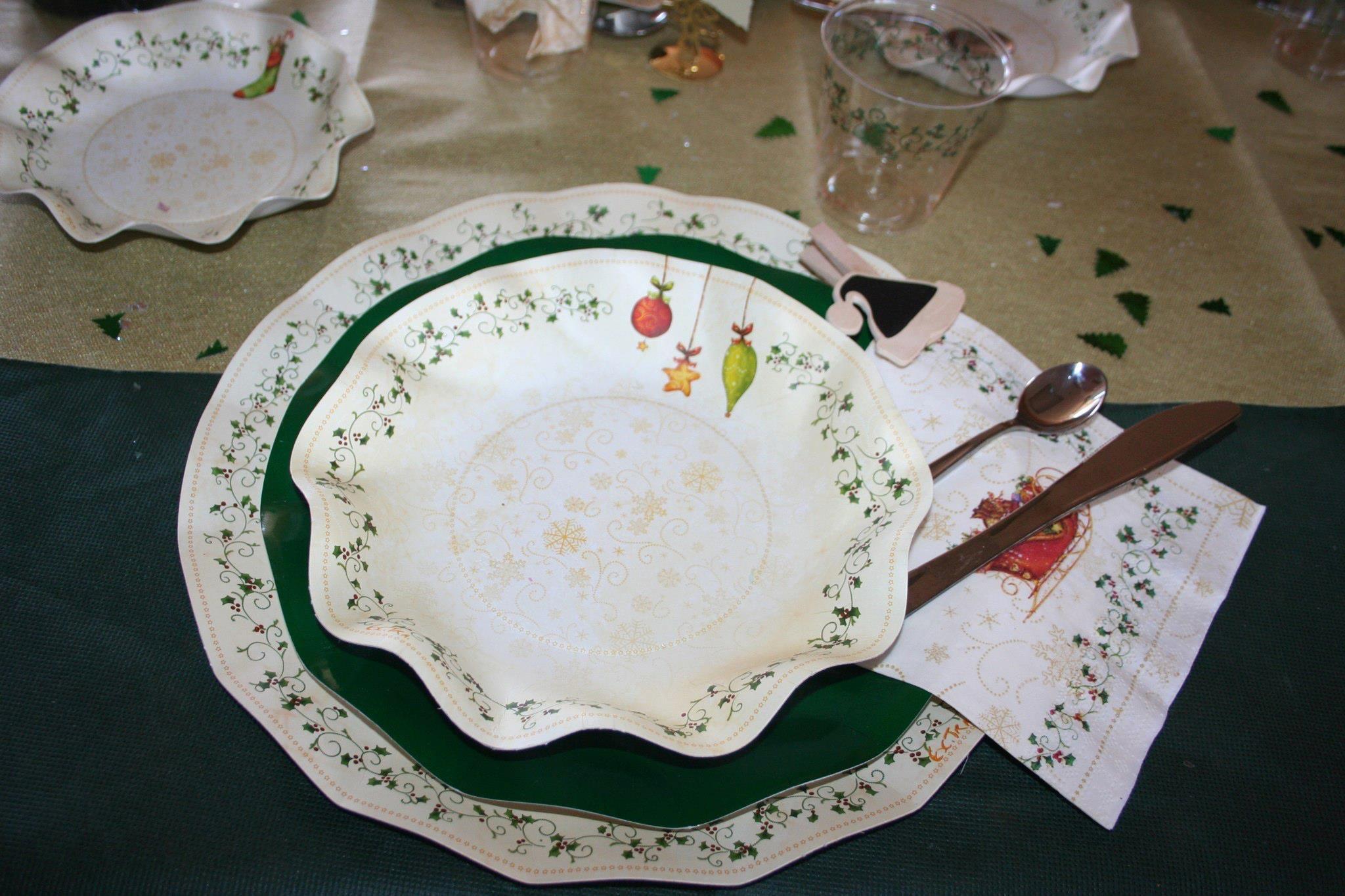 Piatti Di Carta Battesimo : Coordinato tavola decorations piatti in cartoncino alimentare