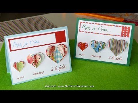 Carte Fete Des Peres A Imprimer Coeurs Accordeons Cartes Fete
