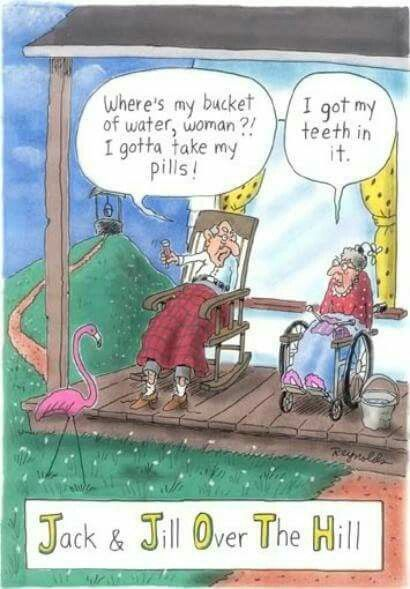 Old Age Sex Jokes. Over the Hill, Getting Old, Senior