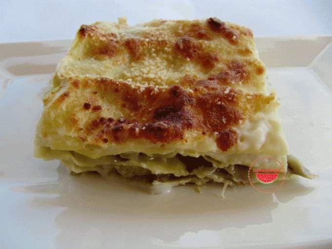 Lasagne ai carciofi vegetariane