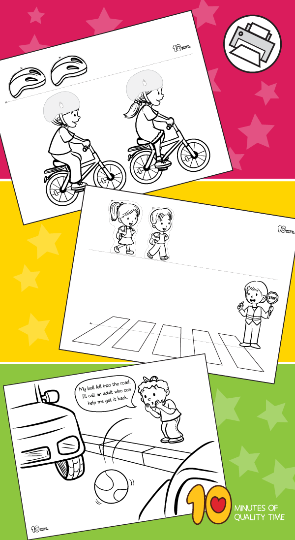 Road safety printables Safety crafts, Road safety