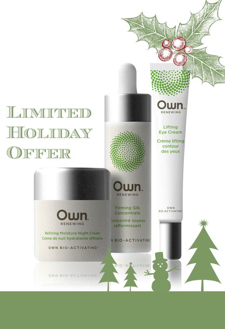 $55 Treatment Holiday Gift Set.  That's 25% off regular price and free shipping. <3 Own