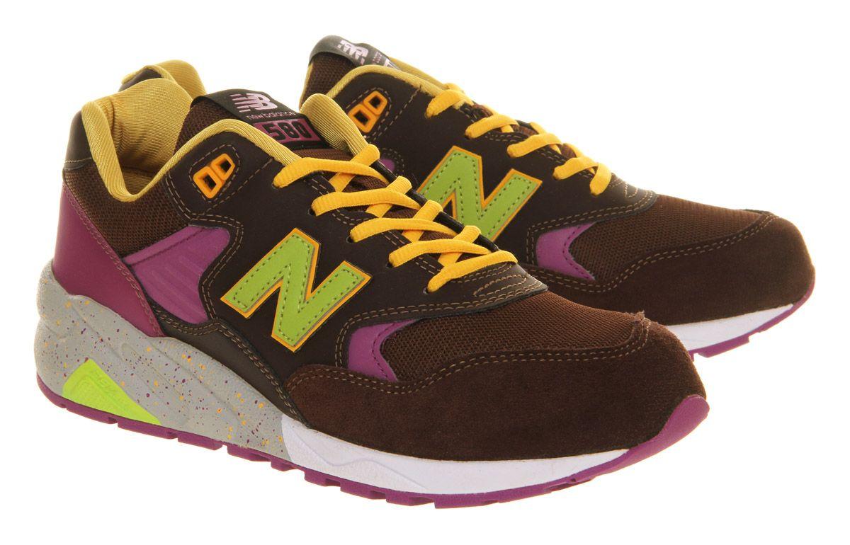 necesidad ventana Oxidado  New Balance Mrt580 Brown Green Pink - His trainers | New balance, Brown  suede, Sneakers