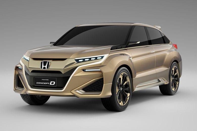 Honda Debuts Concept D Crossover At The Shanghai Motor Show Suv
